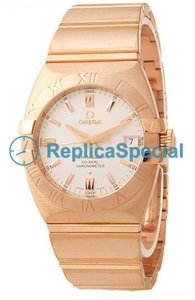 Omega Constellation 1101.30.00 Pink Gold Bralecet Automatic Pink Gold Case Watch