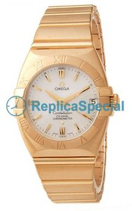 Omega Constellation 1190.70.00 18k Yellow Gold Case Polygon 18k Yellow Gold Bralecet Watch