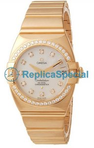 Omega Constellation 1199.75.00 Womens 18kt Yellow Gold Bralecet Automatic Watch