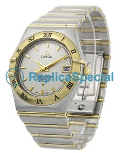 Omega Constellation 1202.30.00 White Dial Dial Steel/Gold Bralecet Yellow Gold Bezel Watch
