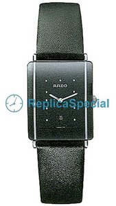 Rado Integral R20486165 Black Dial Automatic Bracelet Stainless Steel Case Watch