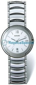 Rado Coupole R22593112 Armband White Dial Stainless Steel Bezel Automatic Watch