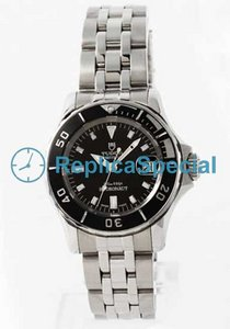 Tudor Glamour Date Lady TD99090BK Automatic Mens Stainless Steel Bezel Bracelet Watch