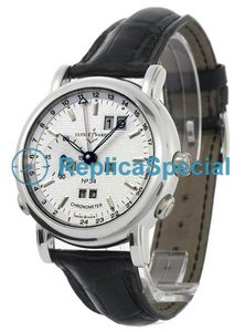 Ulysse Nardin GMT Perpetual 329-80 Mens Automatic Round Watch